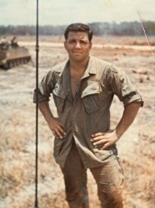 Joe in Vietnam. He was 19.